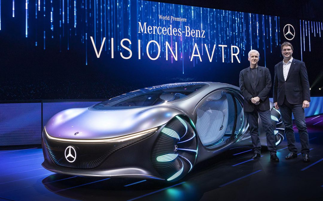 With Director James Cameron's Help, Mercedes Reveals its New AVTR