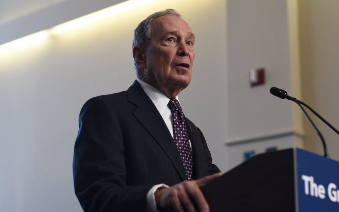 Bloomberg Would Push U.S. to Go All EVs by 2035