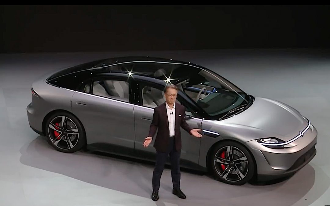 Sony Displays its Automotive Vision with New EV Concept Car at CES