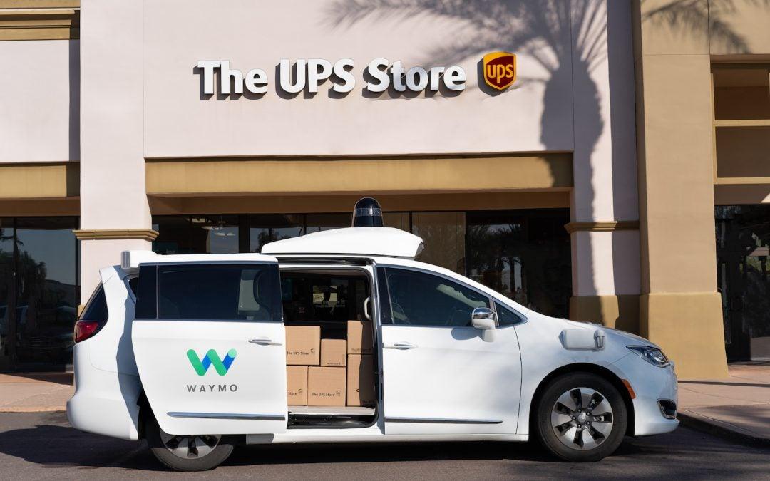 Waymo Partners with UPS for Autonomous Deliveries