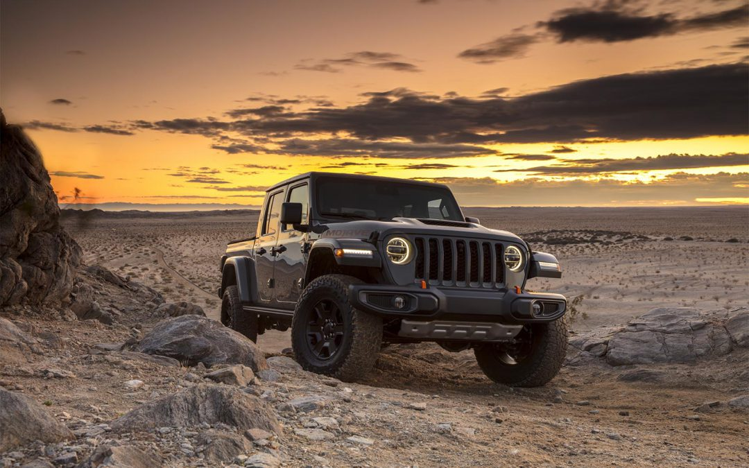 Jeep Desert-Rated Gladiator Mojave Set to Take Things to New Extremes