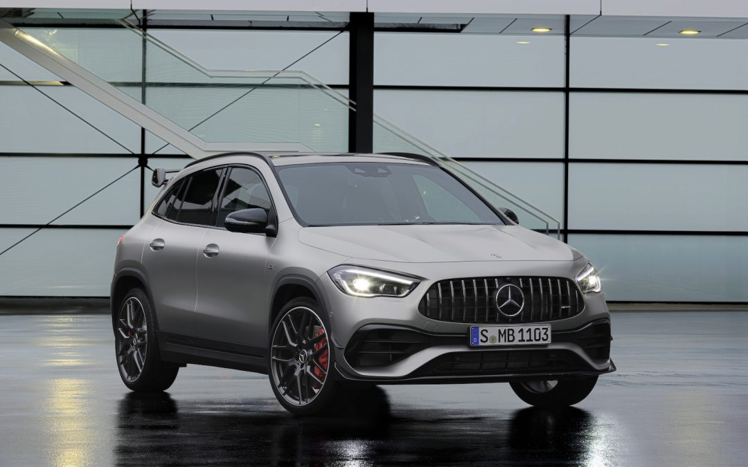 Mercedes-AMG GLA 45 is the Everyday Car You Can Take to the Track