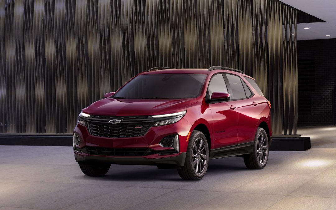 Chevy Introduces Refreshed Equinox for 2021