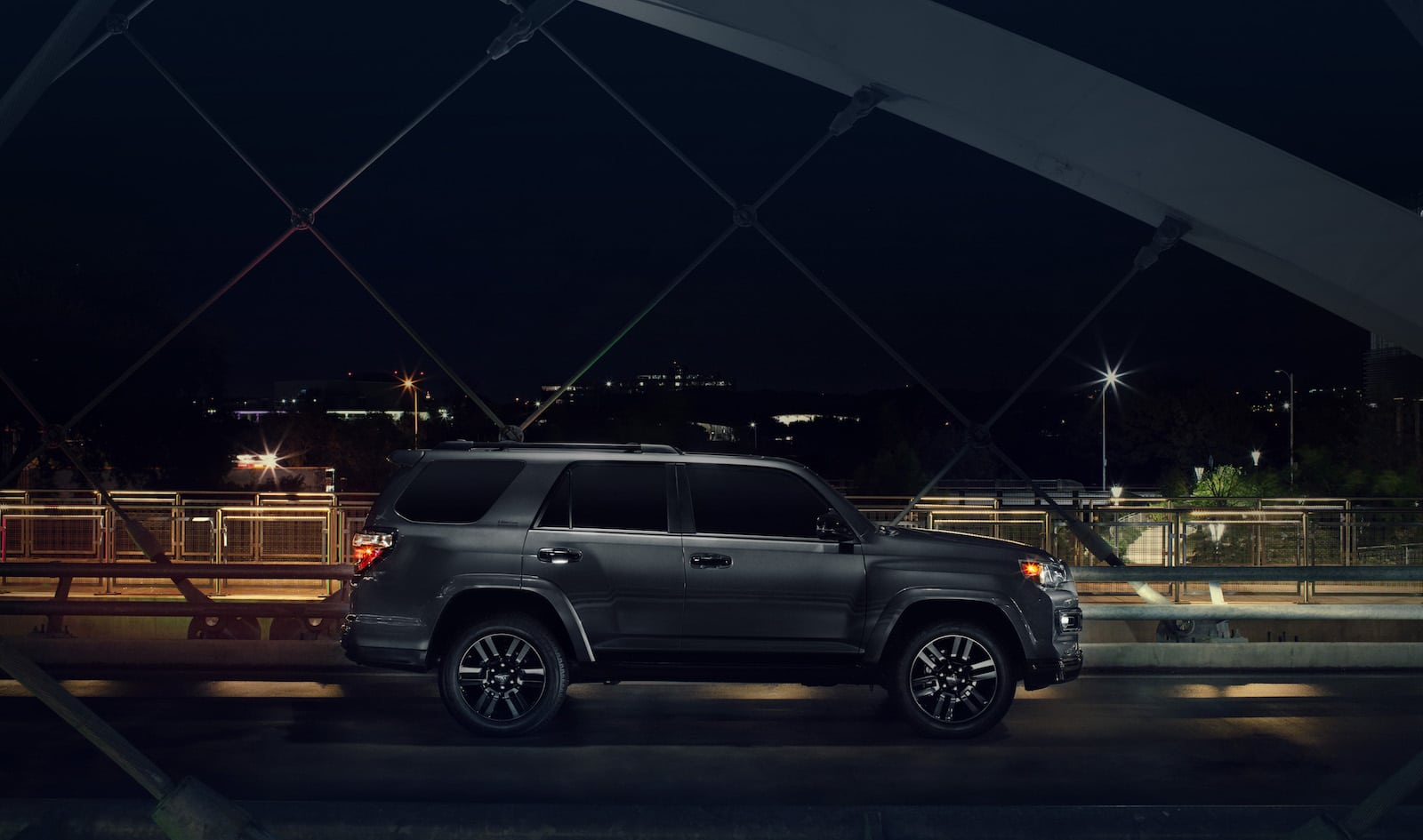 Toyota Shows Off Its Magnificent Seven Near The