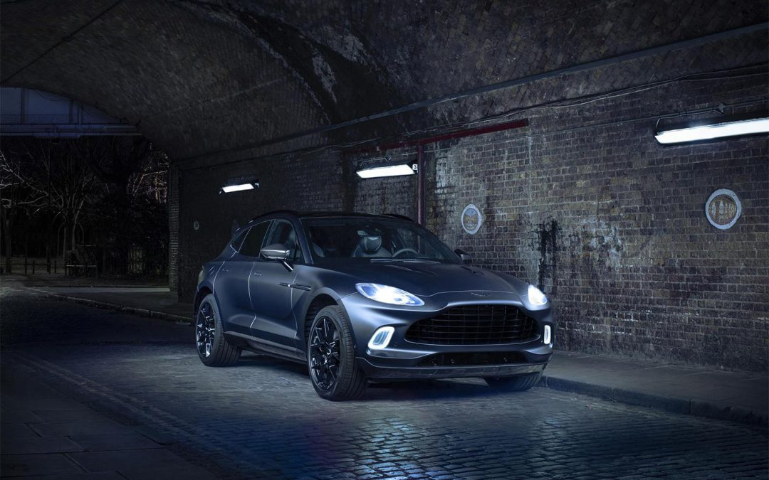Aston Shows off the Dark Side of New DBX with Customized Q Edition