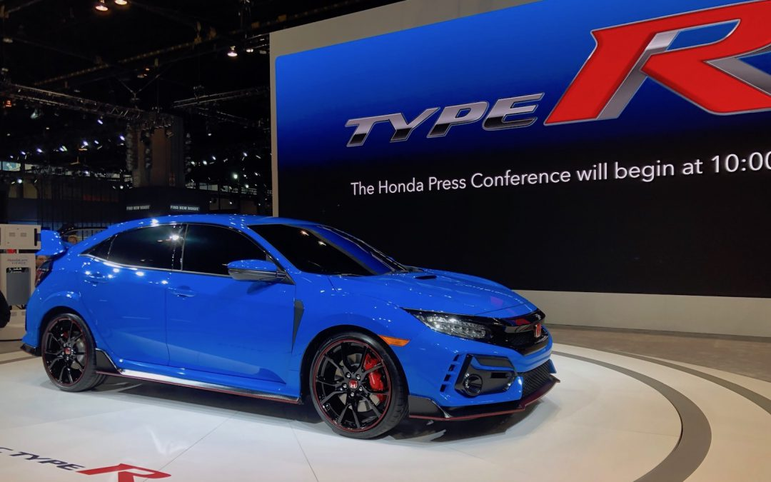 Honda Powers Up With Improved Civic Type R