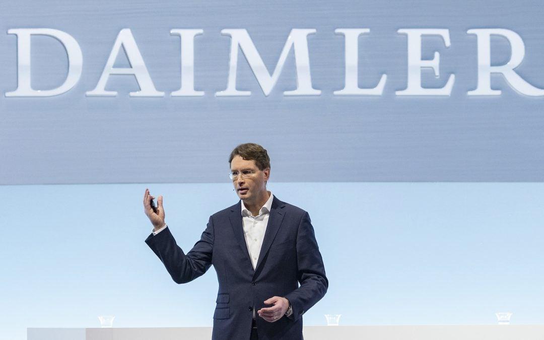 Daimler Seeing Red Due to Second Quarter Estimates