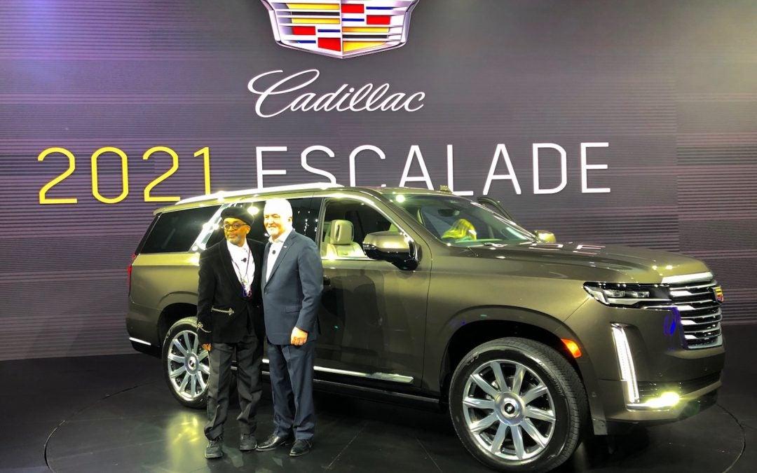 First Look: 5th-Generation Cadillac Escalade