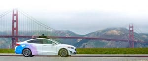 ارتفعت أميال اختبار كاليفورنيا بنسبة Lyft-Aptiv-Golden-Ga