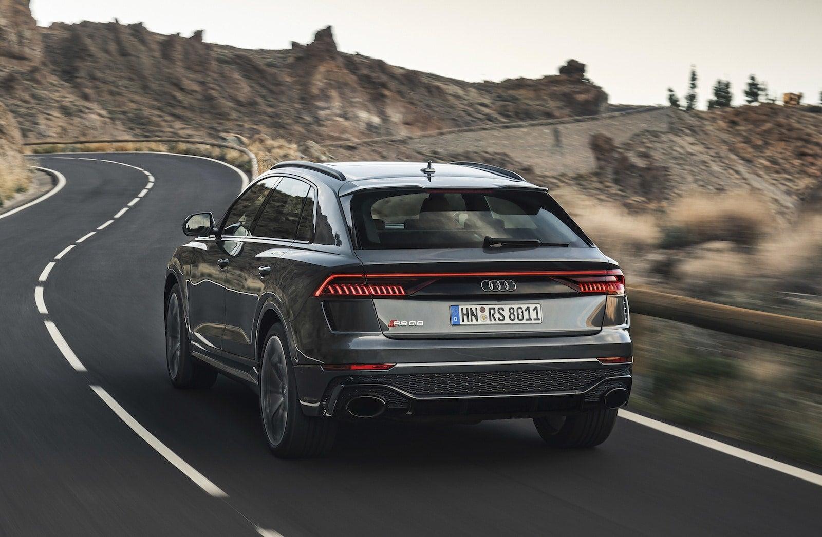 Audi Rs Q8 Bursts Onto The Performance Suv Scene The Detroit Bureau