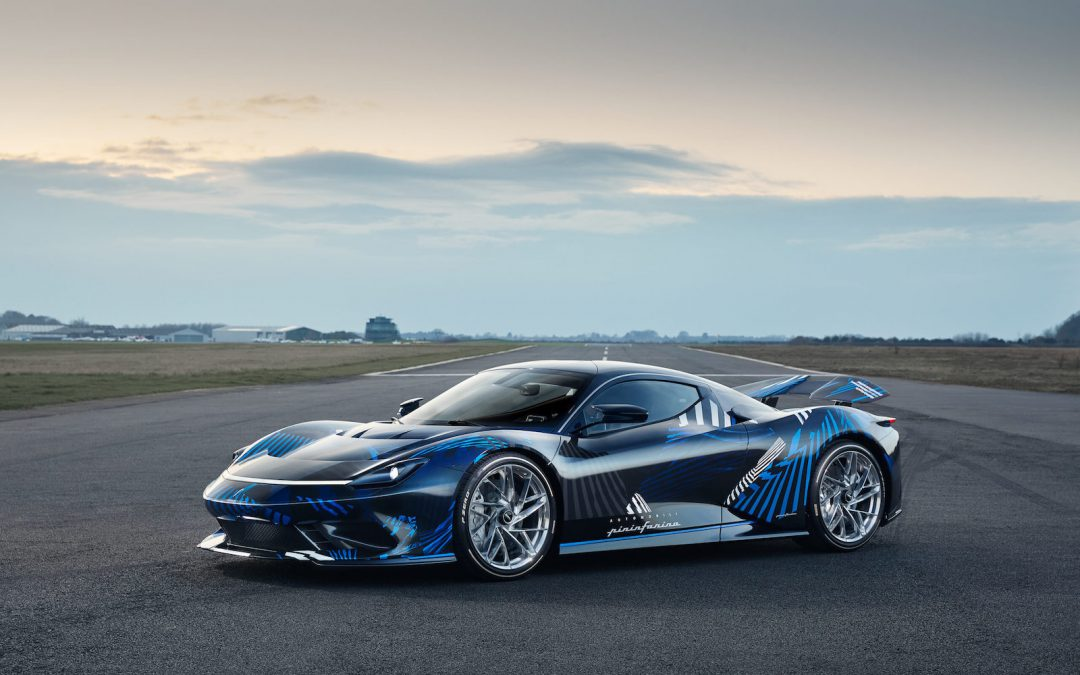 """Pininfarina Celebrates """"Anniversario"""" With a Special Edition of its Electric Hyper Car"""