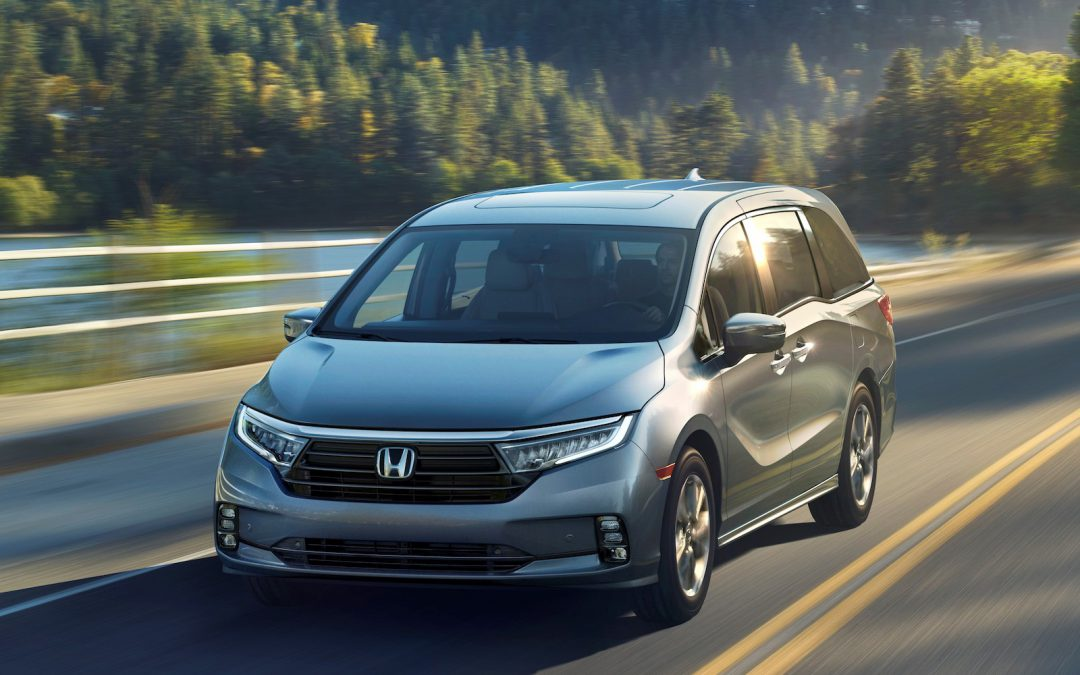 Honda Planning to Show 2021 Odyssey in New York