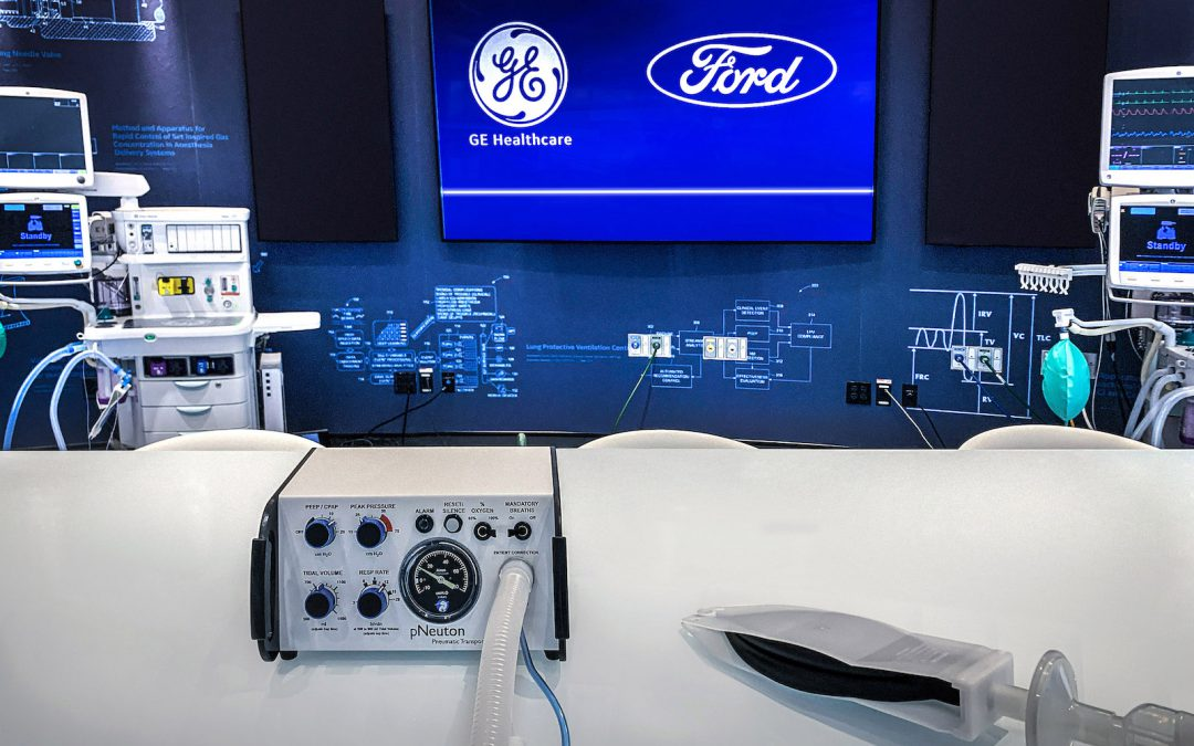 Ford, GE Set to Launch New Ventilator Operation on April 20