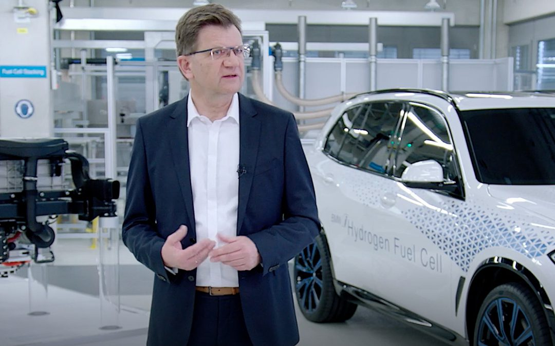 BMW Reveals New Hydrogen Fuel-Cell Technology