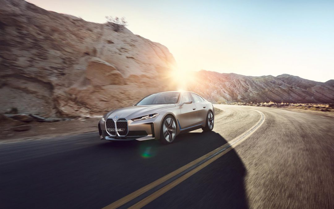 BMW Plugs Back In With Long-Delayed i4 Concept