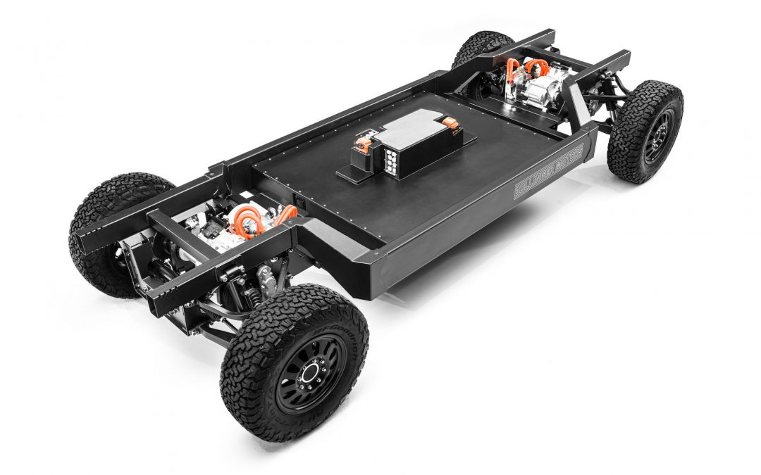 Detroit-Area Startup Bollinger Unveils new E-Chassis