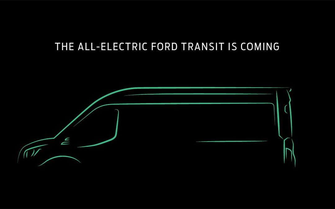 Ford Confirms Plans for All-Electric Transit Van