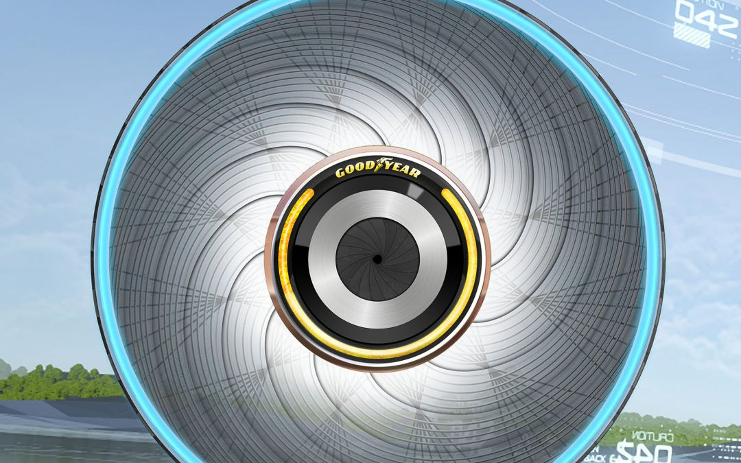 Goodyear reCharge Concept Would Let You Renew, Rather than Replace, Worn Tires