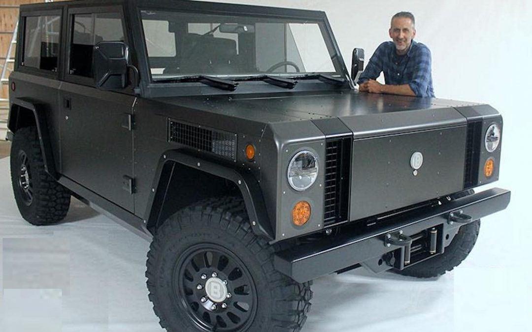 Q&A Bollinger Motors' CEO Robert Bollinger