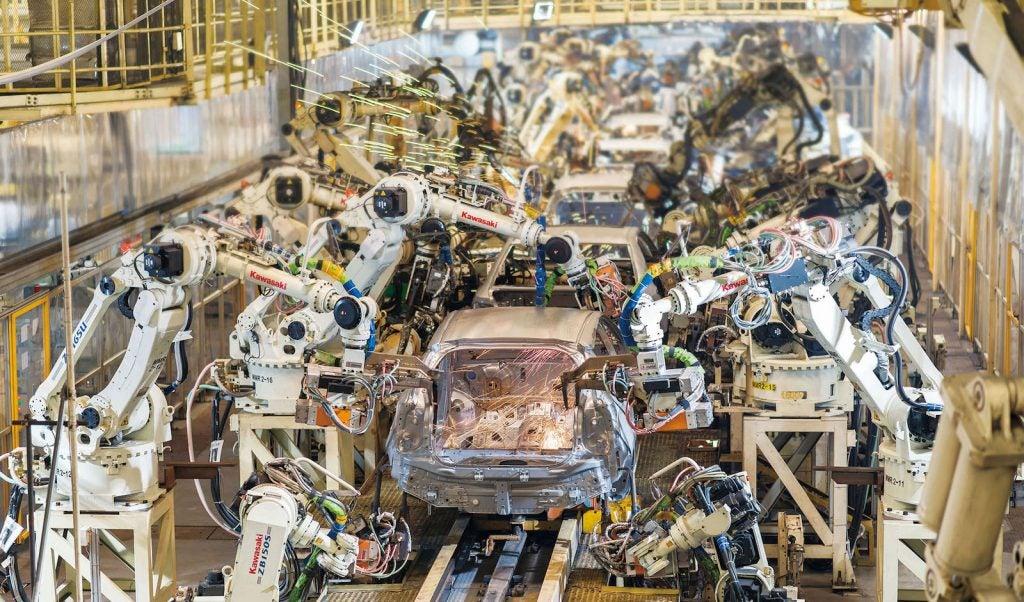 Toyota GAC Guangzhou plant