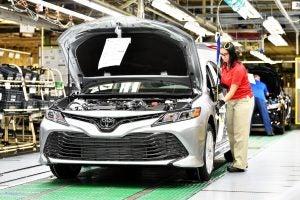 Toyota plant in Georgetown, Kentucky
