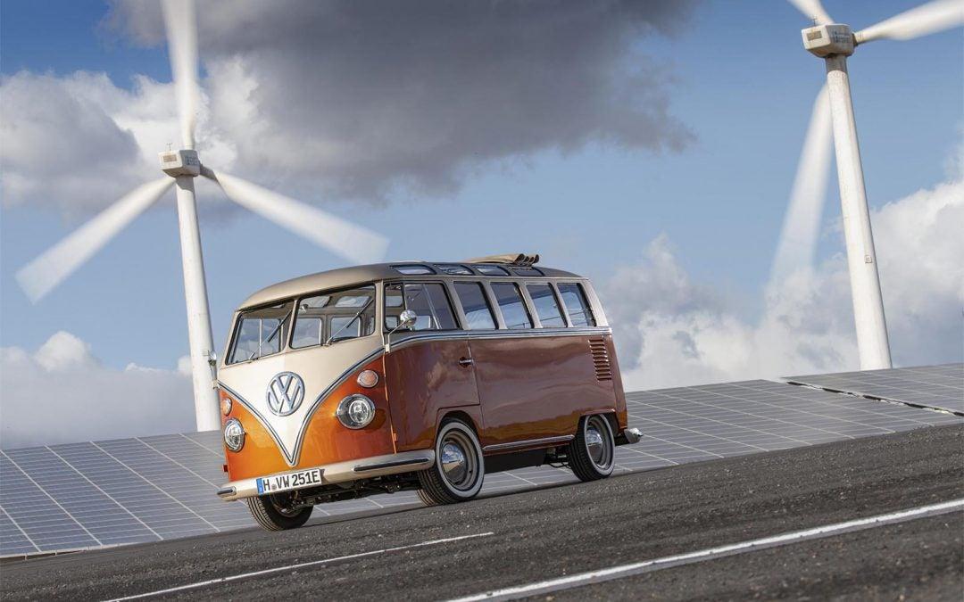 Bully, Bully: VW Shows off the E-BULLI Concept