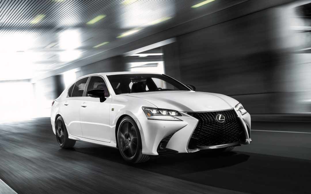 Lexus Producing Black Line Edition of GS 350 F-Sport