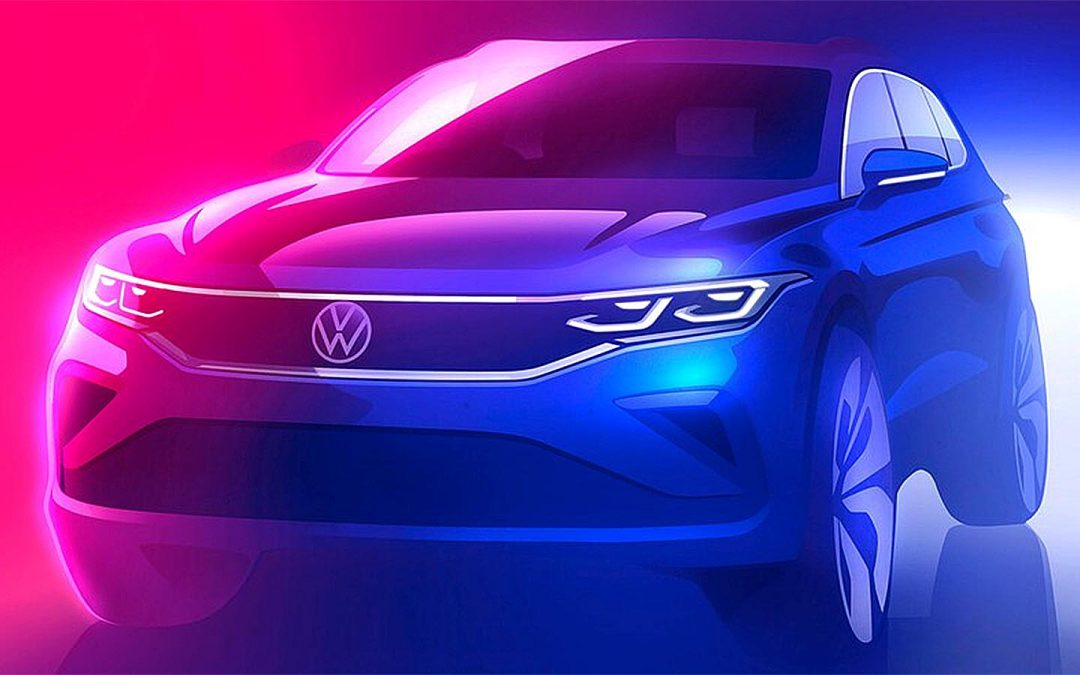 VW Offers First Look at Major Update for 2022 Tiguan