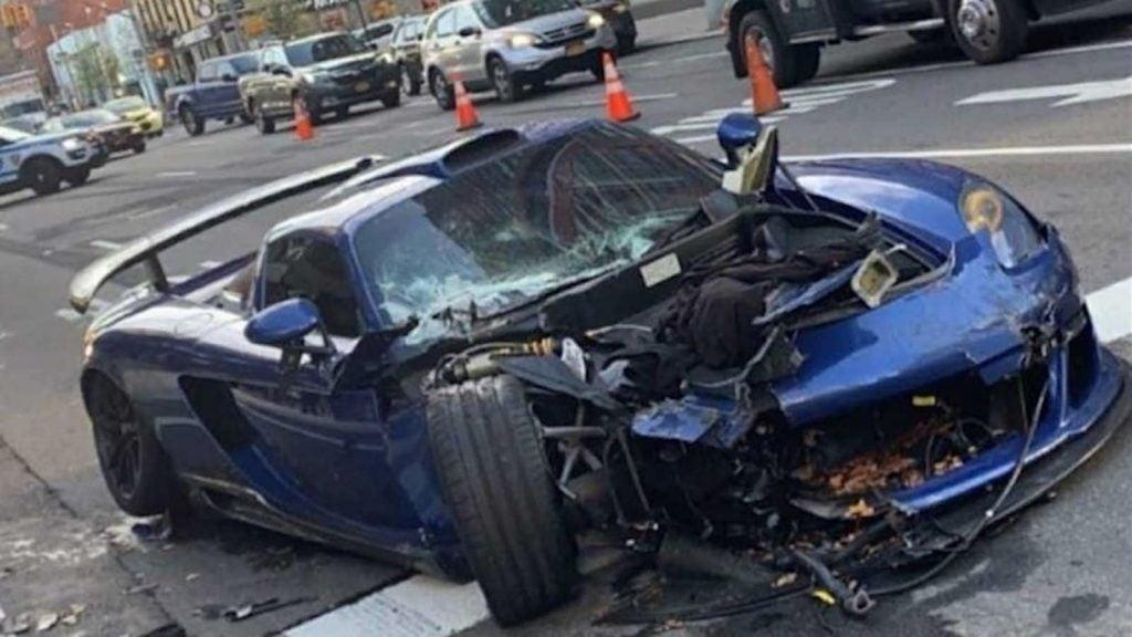 Porsche Gembella crash