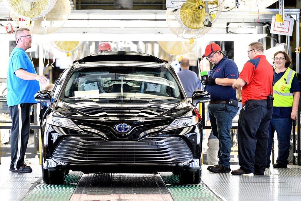 Toyota US Plant