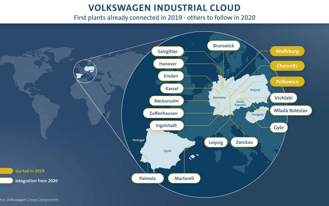 VW Using Cloud Computing System to Improve Factories, Save Hundreds of Millions