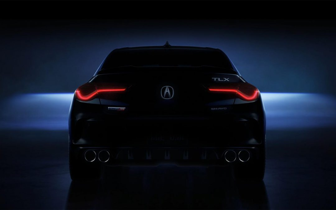 Acura Teases 2021 TLX Debut