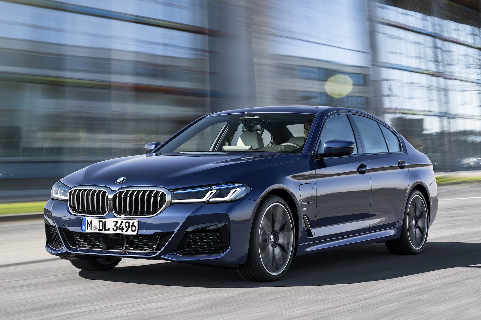 bmw keeps on truckin' with its 2021 5 series sedan