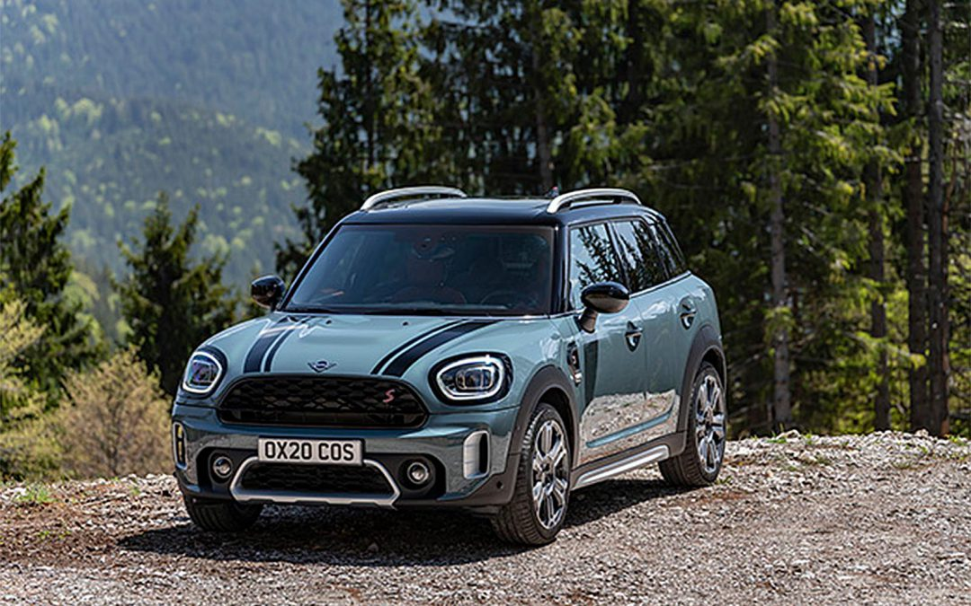 Next-Generation Mini Countryman Breaks Cover