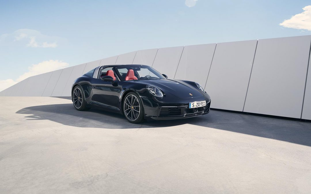 Porsche 911 Targa Gets a Big Update
