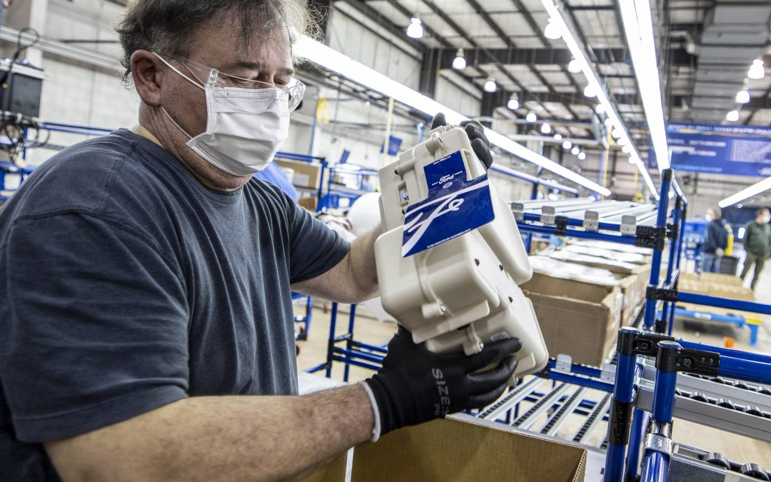 Ford Begins Shipping Respirators to Health-Care Workers Battling the Pandemic