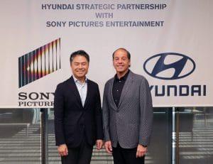 Hyundai teams with Sony
