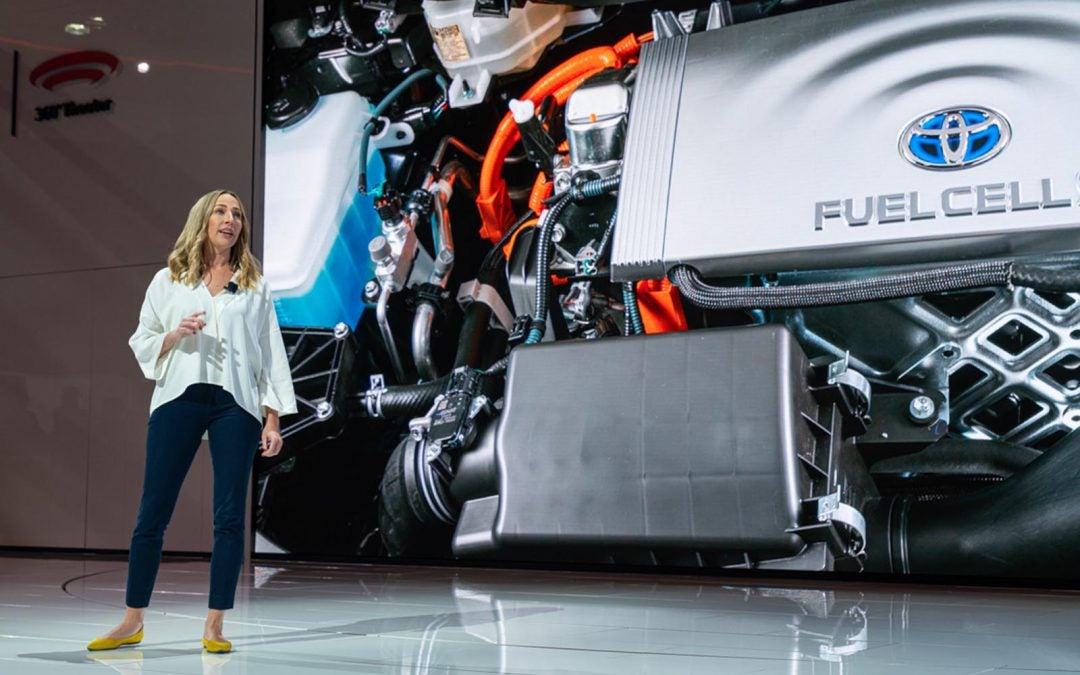 Q&A: Toyota's Hydrogen Chief Jackie Birdsall