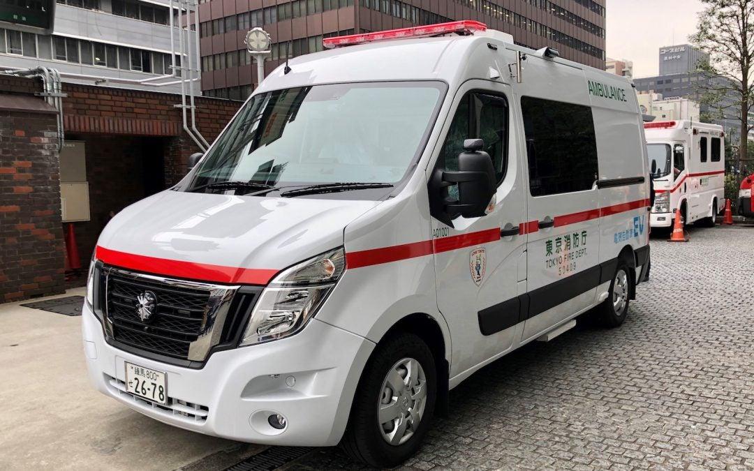 Nissan Donates EV Ambulance to Tokyo Fire Department