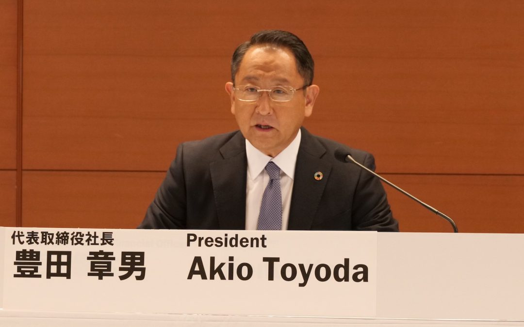 Toyota Surprises Analysts, Turns Small Q1 Profit