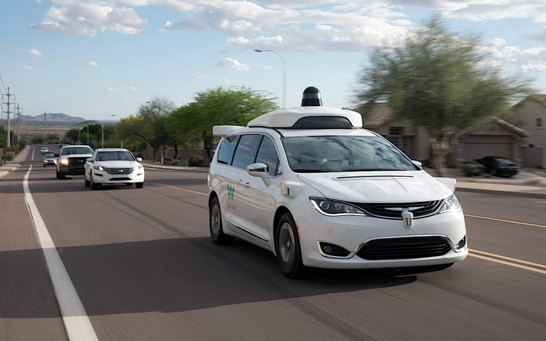 Waymo Restarting Autonomous Vehicle Testing in Phoenix