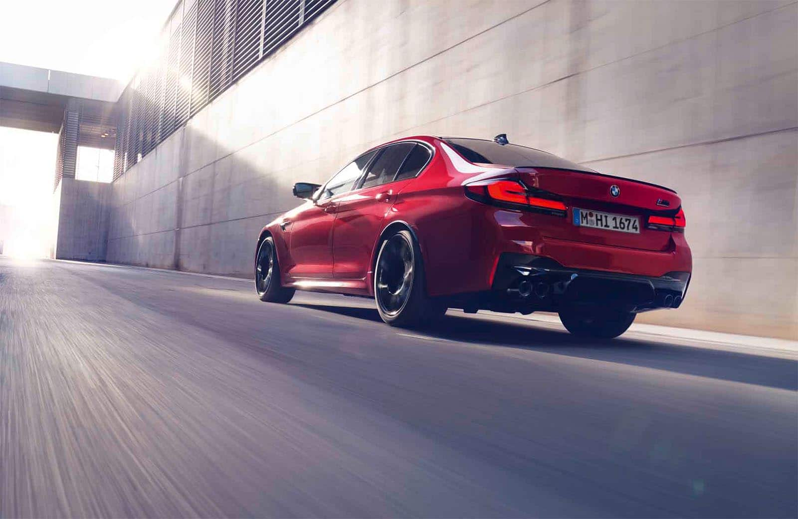 first look  2021 bmw m5