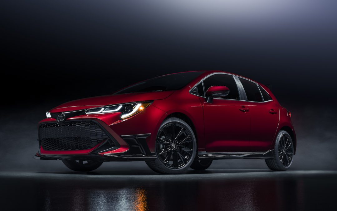 Toyota Heats Up 2021 with Corolla Hatchback Special Edition