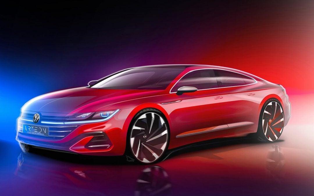 VW Debuting 2021 Arteon Sedan, New Shooting Brake June 24