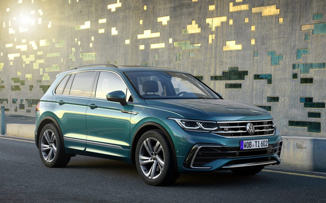 Volkswagen Offers Up Refreshed Tiguan in the U.S. for 2022 Model Year