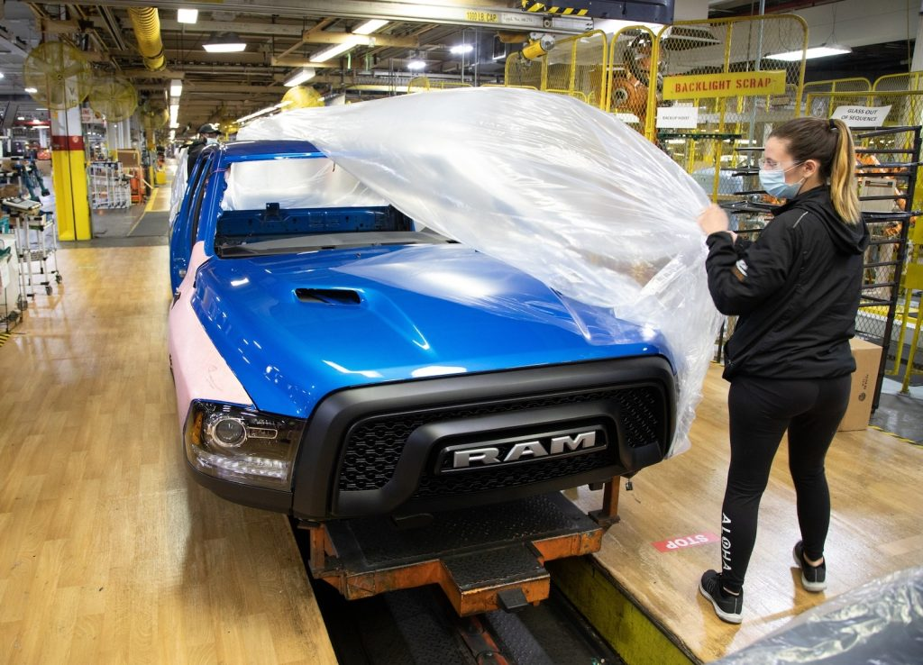 FCA ramping up post-COVID production