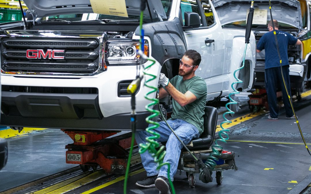 GM Cutting Third Shift at Midsize Truck Plant