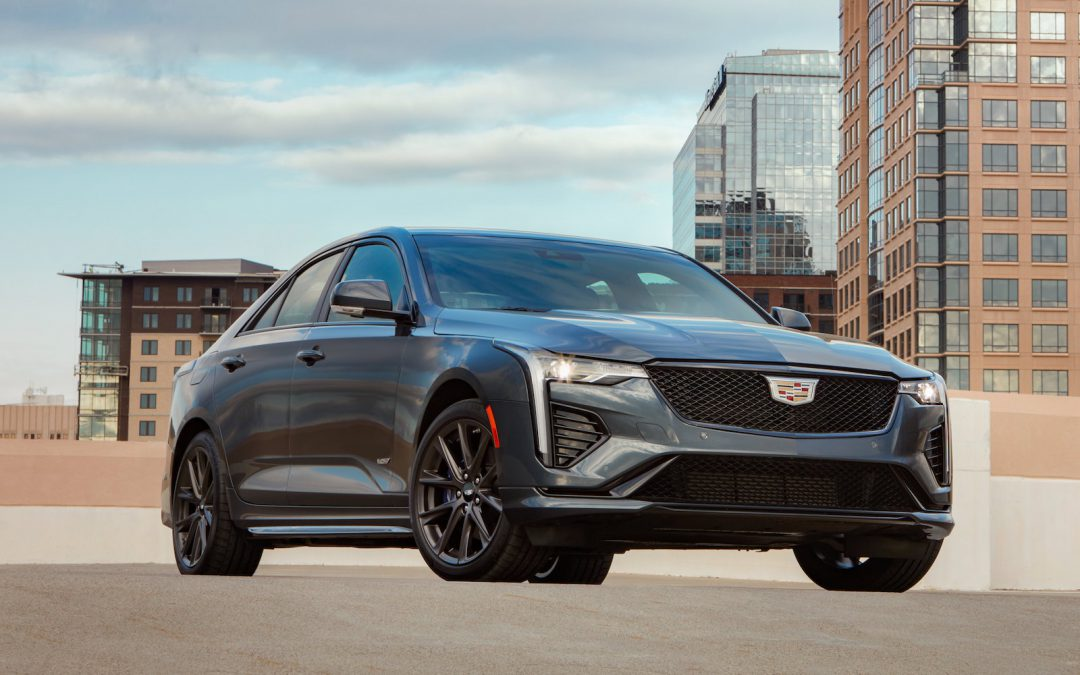 First Drive: 2021 Cadillac CT4-V