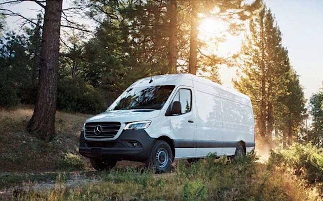 Mercedes-Benz Offers New Diesel in Cargo Van