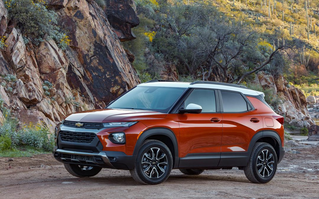 First Drive: 2021 Chevrolet Trailblzer